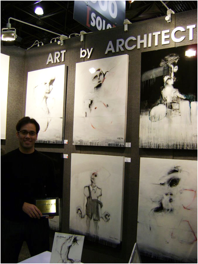 2009 - ART EXPO NEW YORK - SOLO AWARD - GASTON CARRIO